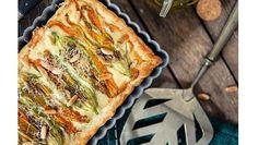 La ricetta facile e veloce per preparare in casa una torta salata con stracchino e fiori di zucca, un piatto autunnale da leccarsi i baffi