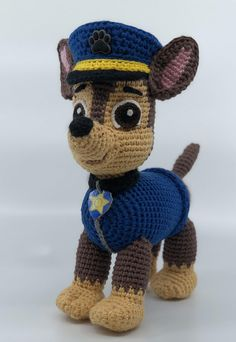 Paw patrol crochet patterns. 4 patterns to make 4 Paw Patrol characters: Chase, Rocky, Skye, Zuma, Marshall and Tracker. Also, You will get 3 pattern for FREE: Rubble, and Everest. Please, do not write review of FREE patterns, I am working on them. Thank you for understanding! Toy
