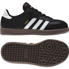 Adidas Samba Classic Junior Soccer Shoe 036516 Black-White Girls Soccer  Shoes aeb4f3d88
