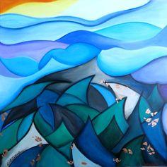 guardando il mare: LIBECCIO   Flora Casati 2014