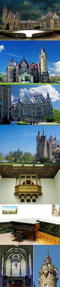 Moszna #Castle, Poland