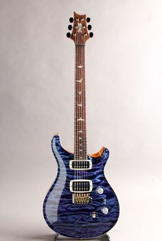 PRS[Paul Reed Smith ポールリードスミス] Private Stock #4132 Custom 24 Signature Quilted Maple Top Figured Swamp Ash Back Aqua Violet 2013|詳細写真