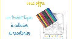 Cui Cui Les Petits Cadeaux 8 : un t-shirt à colorier et recolorier Rêve de Pan http://www.ju2framboise.com/2014/04/cui-cui-8-reve-pan.html