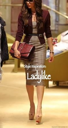 Style Inspiration: Ladylike - made this sheath dress now looking for this sweater.