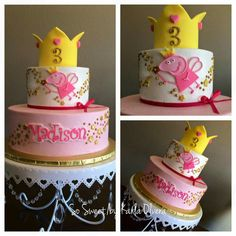 Peppa pig cake !!