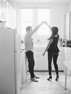 Dancing in the kitchen | D'Arcy Benincosa