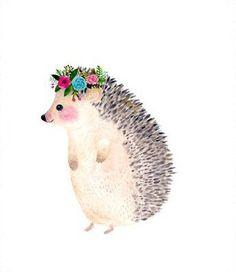 neu-ras-te-ni-a — by zuhal kanar Hedgehog Art, Cute Hedgehog, Hedgehog Tattoo, Hedgehog Drawing, Hedgehog Illustration, Cute Illustration, Watercolor Animals, Watercolor Paintings, Watercolors