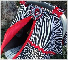 Carseat Canopy Cover CREATE YOUR OWN CoLoRs by fashionfairytales, $36.99