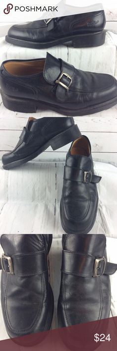 Dr Martens Black Leather Slip On Loafer Shoes Dr Martens Womens Black Leather Slip On Loafer Shoes Size 11 England Air Wair.   Shoes are in good condition. No rips or stains. Soles are in really good condition. Will need polished. Dr. Martens Shoes Flats & Loafers