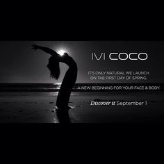 Are you as excited as we are? Only a few hours to go before we reveal IVI COCO to the world! Discover it September 1, just in time for the first day of Spring #ivicoco #iviorganic #naturalbeauty #australianskincare #organic