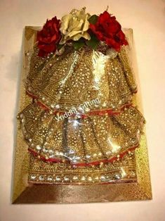 Indian Wedding Gifts For Bride Indian Wedding Gifts, Desi Wedding Decor, Wedding Gifts For Bride, Indian Wedding Decorations, Bridal Gifts, Wedding Ideas, Trousseau Packing, Marriage Gifts, Marriage Decoration