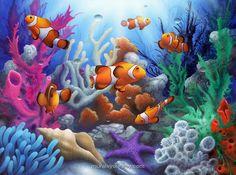 Nemo mural maybe for Otis