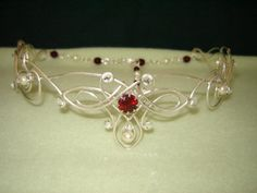 Custom circlet crown