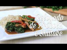 Refogado de Brócolis e Shiitake - Presunto Vegetariano