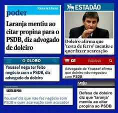 HELLBLOG: LARANJA RECEBEU DINHEIRO DE DILMA PARA ACUSAR PSDB...