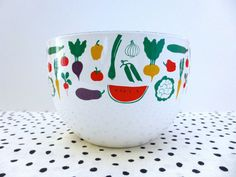 Vintage Kaj Franck Finel White Enamel Fruit by ForestHillsVintage, $56.00