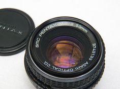 Vintage Asahi SMC Pentax M 12 50mm Lens  by 1littletreasureshop, $35.00