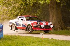 Triumph TR7 V8 rally car.