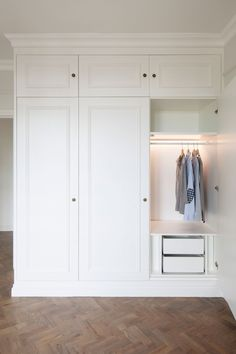 mudroom closets, dry cleaning storage