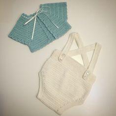 Conjunto talla 1-3 meses  #mantas #crochet #hechoamano #handmade #miabuelangelita #lana #algodón #ropadebebe #bebe #canastilla