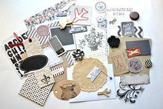 Journaling Kit Travel Journal Kit Travel by ArtistsCornerShop