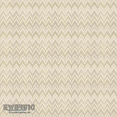 23-007787 Waverly Small Prints Rasch Textil grün-beige Zick-Zack