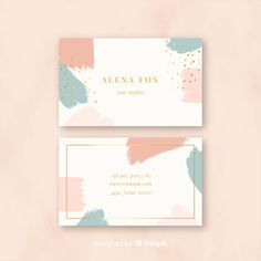 Explore more than business cards to create a professional identity in any field. Free Business Card Templates, Free Business Cards, Professional Business Cards, Business Card Design, Creative Business, Business Casual, Fashion Business Cards, Templates Free, Brochure Design