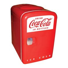 The Coca Cola Compact Refrigerator - Enjoy Chilled Drinks Anytime
