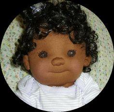 MODELLO di PDF bambola di panno di LaliDolls su Etsy