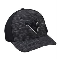 buy popular 736e4 fc4d3 Top of the World WVU Obsidian Pro Curve Memory Fit Cap