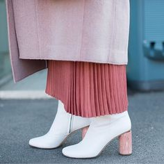 Tuesday shoesday: this week it's all about fresh white boots! Hit the link in our bio for InStyle market editor @lulurosewood's top picks. Getty Images #TuesdayShoesday via INSTYLE AUSTRALIA MAGAZINE OFFICIAL INSTAGRAM - Fashion Campaigns Haute Couture Advertising Editorial Photography Magazine Cover Designs Supermodels Runway Models