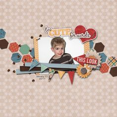 Too Cute for Words Credits:  Template:  Single Pack 2, Le Pinguouin Designs; Kit:  Little Heartthrob Bundle, Hat of Bunny Font Used: Tekton Pro Available At:  http://scraptakeout.com/shoppe/Single-Pack-2.html,  http://scraptakeout.com/shoppe/Little-Heartthrob-Bundle.html