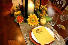 nice fall table..