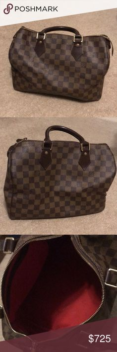Louis Vuitton Speedy Bag 30 Authentic Louis Vuitton Speedy Bag 30!! Great condition. My husband got me a Neverfull now this speedy bag is never used. Louis Vuitton Bags Totes