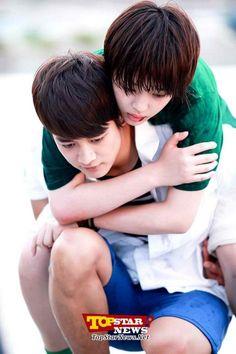 To The Beatiful You, Beautiful You Korean Drama, You Are So Pretty, Hanazakari No Kimitachi E, Piggy Back Ride, Shinee Minho, Fish Wallpaper, Choi Min Ho, Sulli