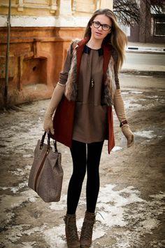 Елена — Сумка Furla, Ботинки Stradivarius, Часы Kenzo, Украшения   мой дизайн, Пальто ZARA