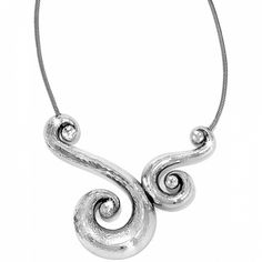 Genoa Scroll Necklace