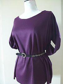 Sew a jersey tunic top :: Free sewing pattern
