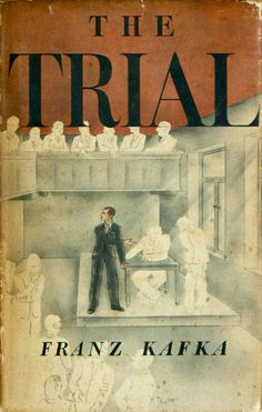 the Trial by Franz Kafka | First American edition | Cover by George Salter 1937