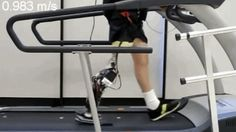Borrowing from the same technology that allows modern bipedal robots to walk, researchers from the University of Texas at Dallas have developed powered prosthetics that allow amputees to walk on a moving treadmill almost as fast as an able-bodied person.
