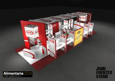PROYECTO STAND ALIMENTARIA (Barcelona - Spain)