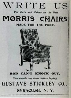 The Gustav Stickley Furniture Nobody Wants. What About Those Tens Of  Thousands Of Fancy,