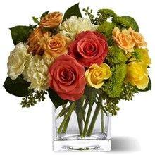 Attractive flower arrangement