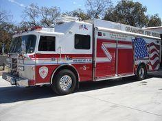 Grandview, TX FD Rescue 75 - 2003 Pierce Saber Heavy Rescue.