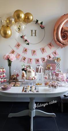 - By Hidaya Cake 18th Birthday Party, Birthday Party Themes, 30 Birthday Balloons, Happy 19th Birthday, Simple Birthday Decorations, 18 Birthday Party Decorations, Its My Bday, Occasion, Moment