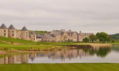 Love the natural touch of natural slate for Lough Erne Resort - UK | #architecture #monument