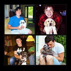I LOVE PUPPIES!!!... and Josh...