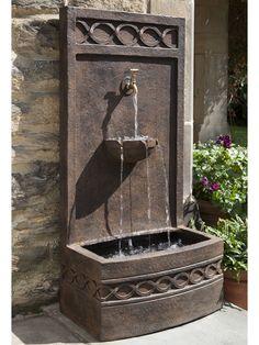 Siena Fountain - Garden Fountains & Outdoor Decor