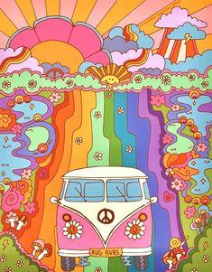 Hippie Wallpaper, Trippy Wallpaper, Retro Wallpaper, Aesthetic Iphone Wallpaper, Bedroom Wall Collage, Photo Wall Collage, Collage Art, Picture Wall, Arte Indie