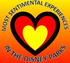 The most sentimental attractions at the Disney parks.